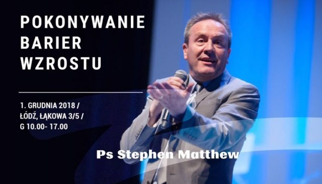Konferencja dla Pastorów zStephena Matthew